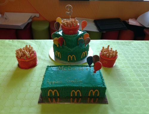 3° compleanno McDonald's APPIANO GENTILE