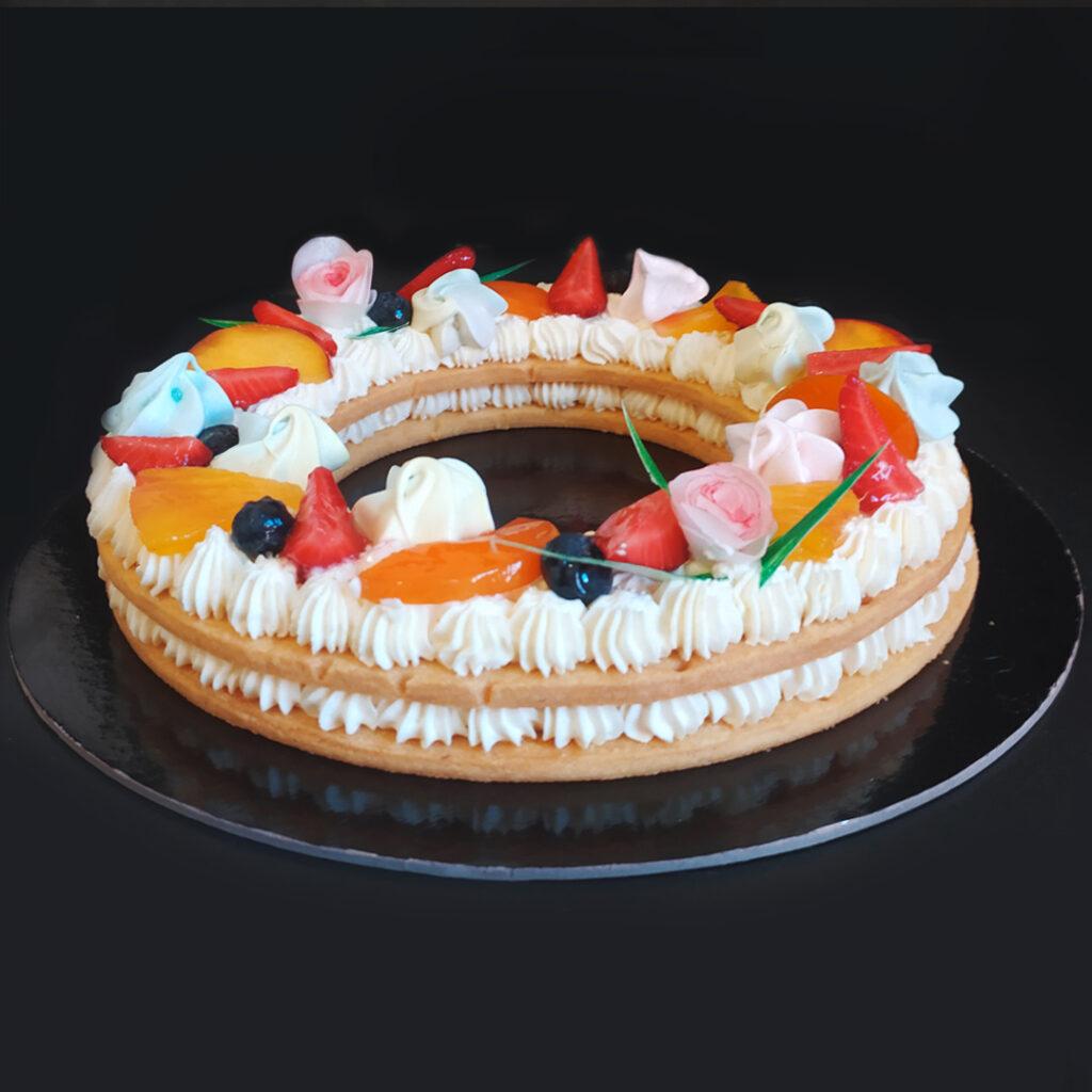 Cream Tart con crema mascarpone