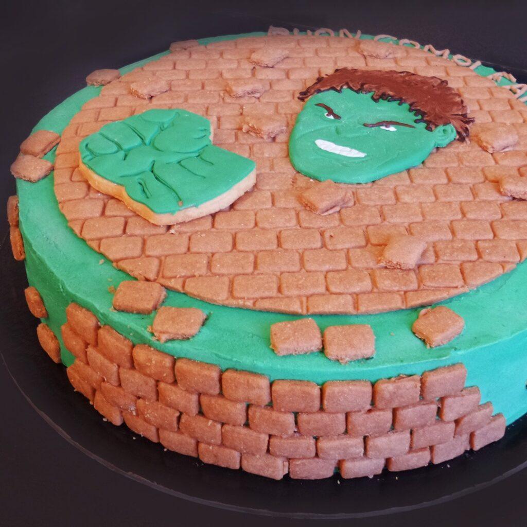 torte personalizzate bambini hulk